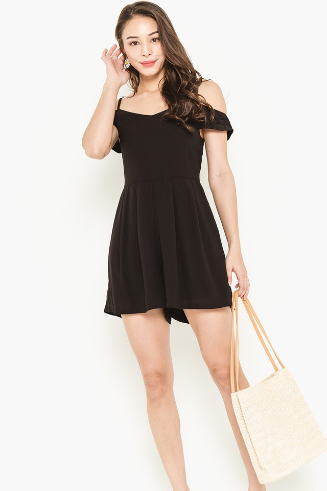 Kailey Playsuit Black