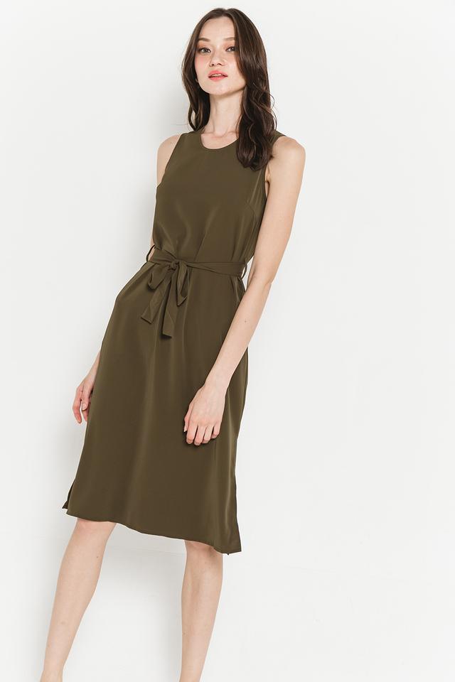 Hester Dress Olive
