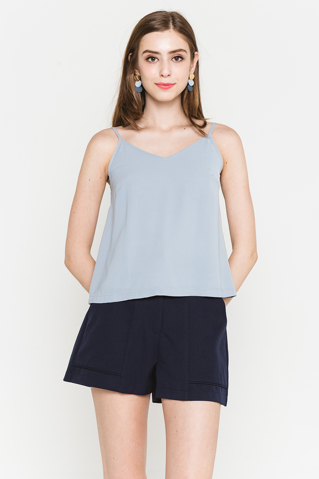 Alisa Top Grey Blue