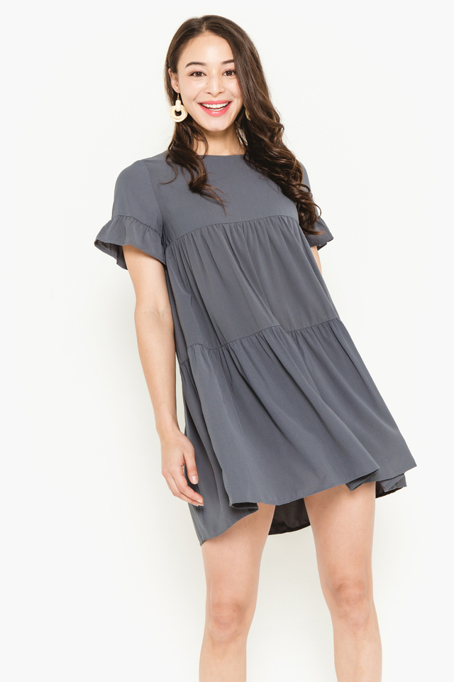 Kiersten Dress Grey