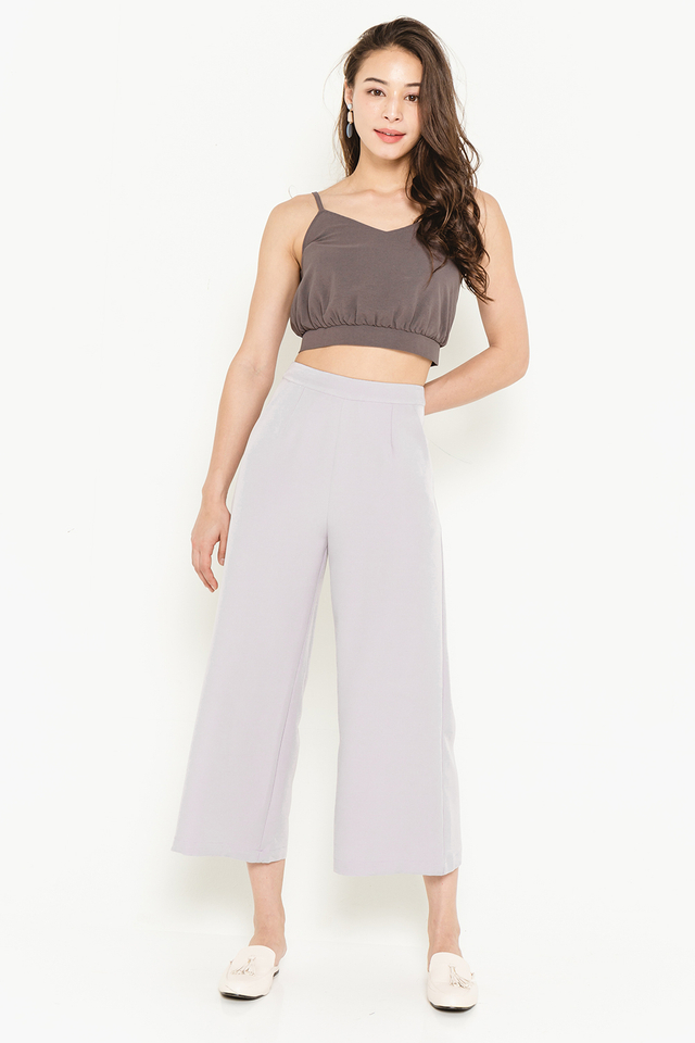 Huxley Culottes Heather Grey