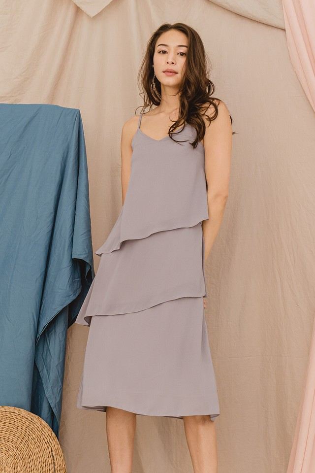 Shreya Dress Grey