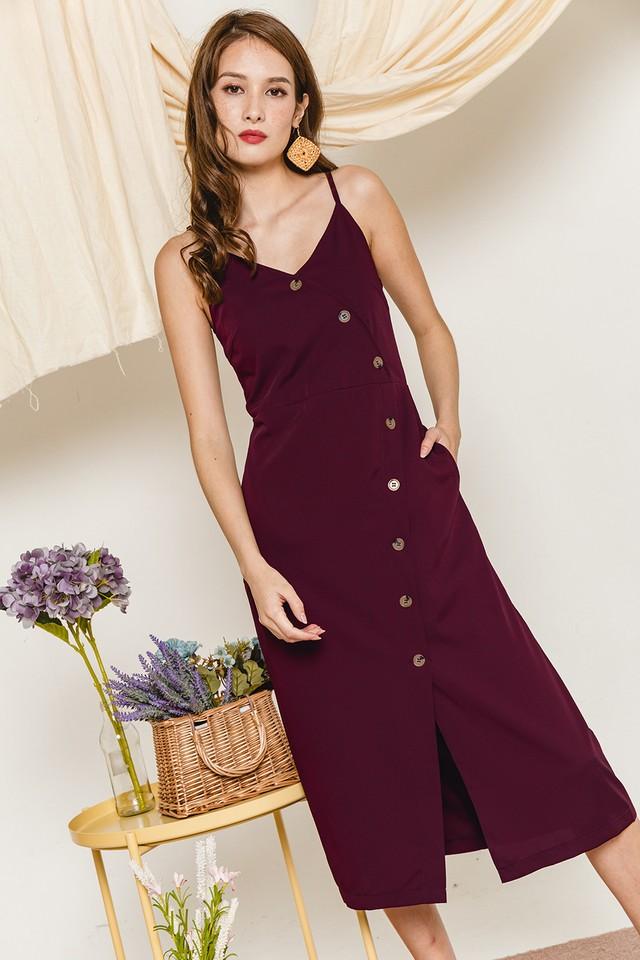 Gaynor Dress Burgundy