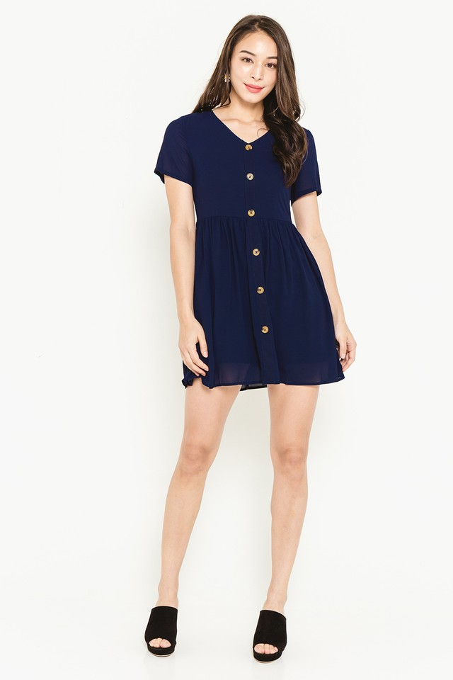 Verna Dress Navy