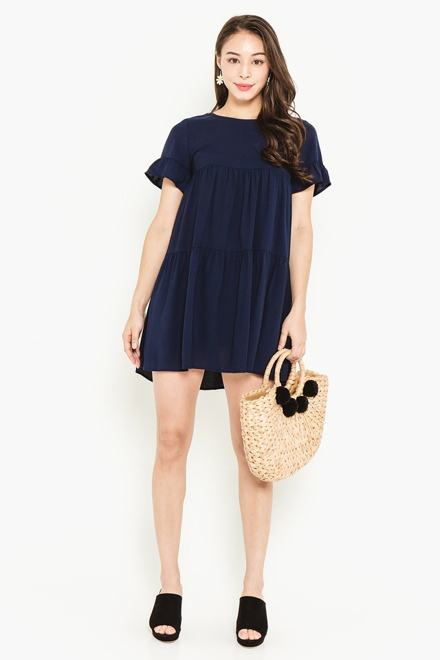 Kiersten Dress Navy