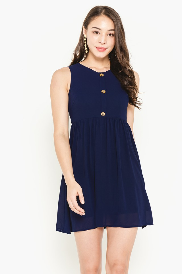 Leena Dress Navy
