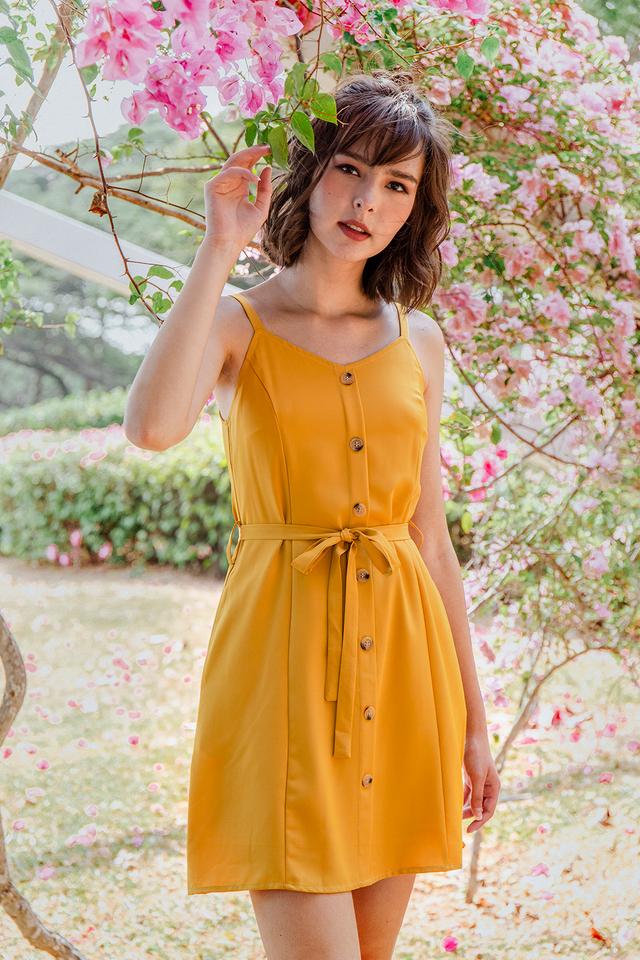 Lanni Dress Mustard