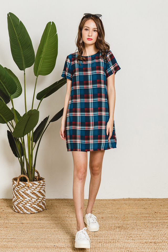 Marion Dress Plaids