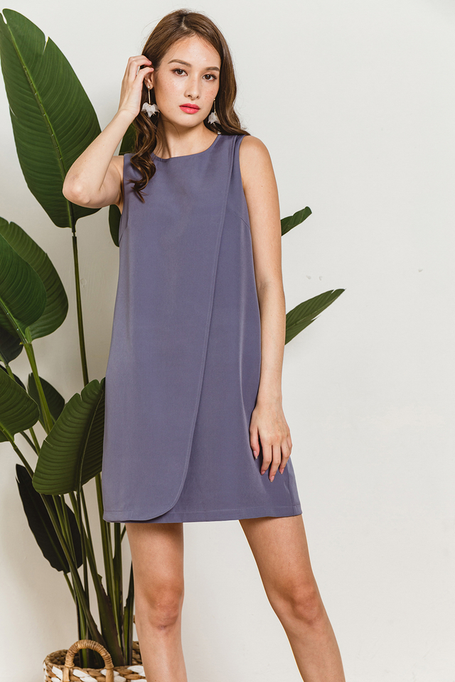 Sabine Dress Ash Blue