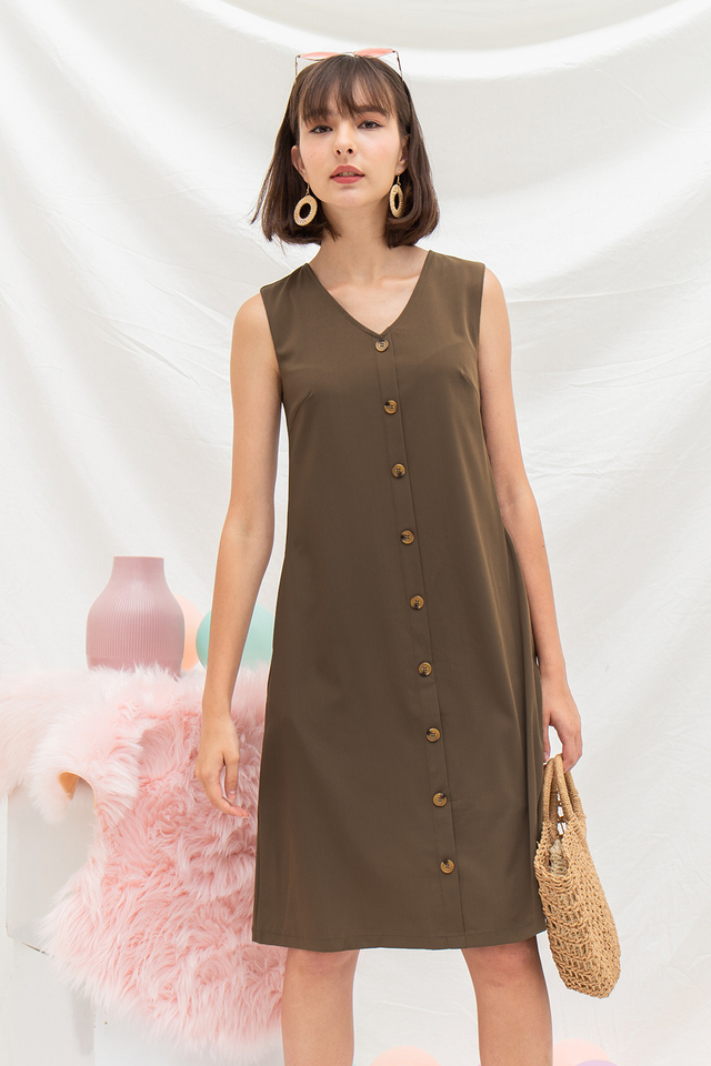 Annabeth Dress Olive