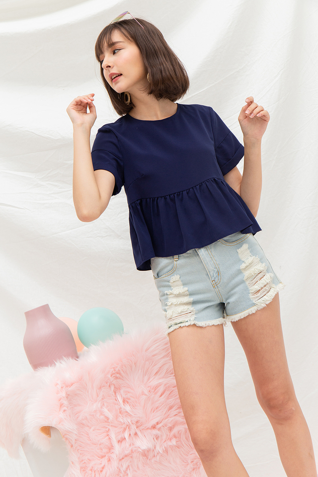Kenley Top Navy