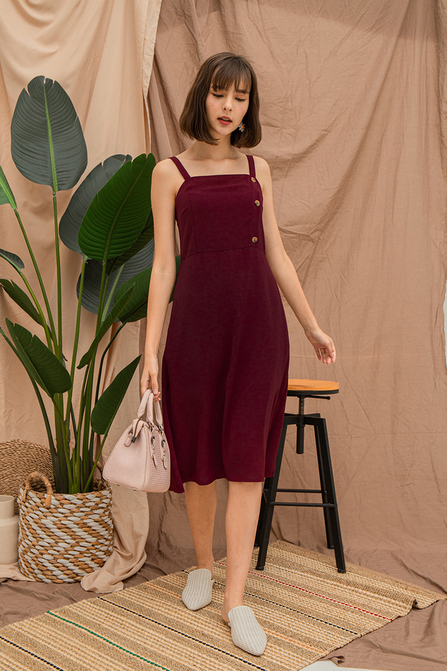Ariella Dress Maroon