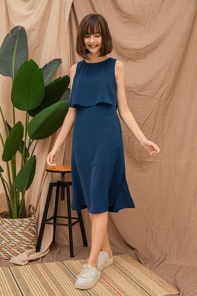 Ysabel Dress Yale Blue