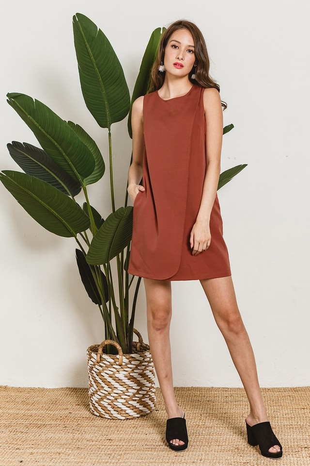 Sabine Dress Terracotta