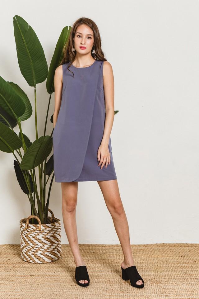 Sabine Dress Ash Blue