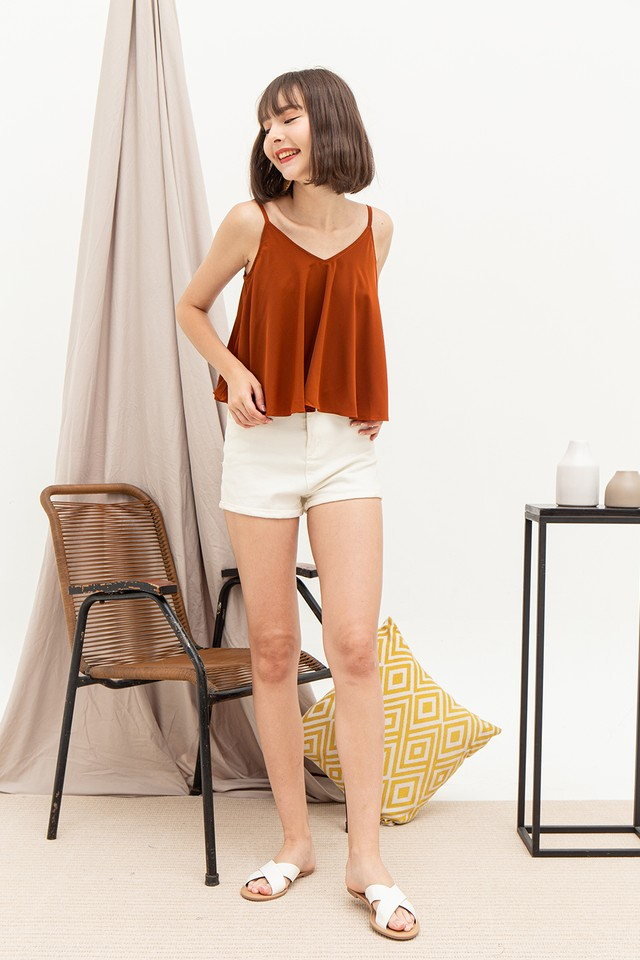 Ashlee Top Burnt Orange