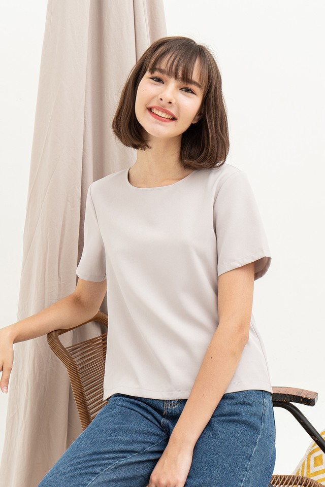 Marcelle Top Grey