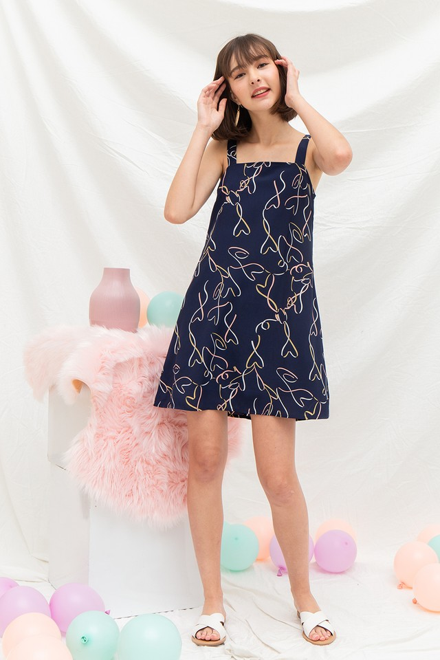 Lennox Dress Confetti