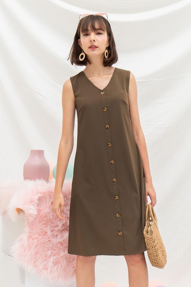 Annabeth Dress Olive