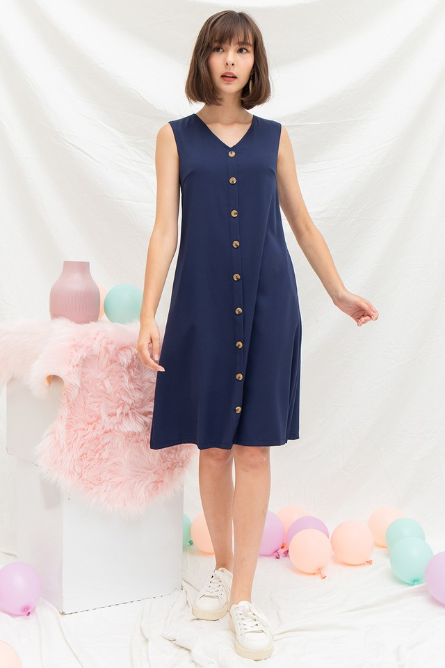 Annabeth Dress Navy