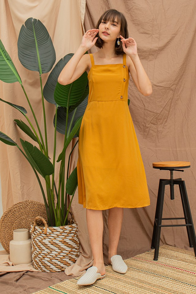 Ariella Dress Mustard