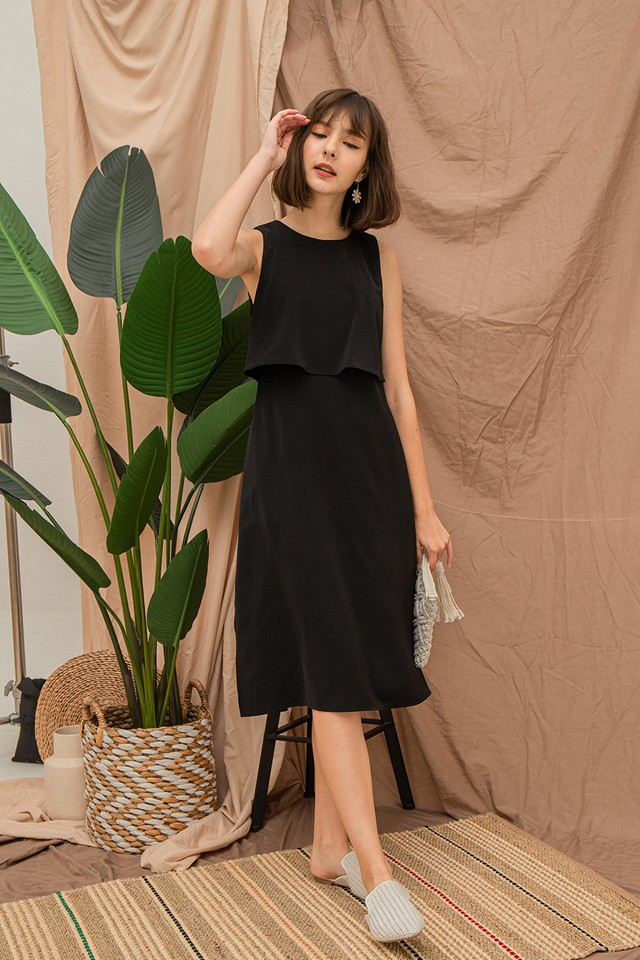 Ysabel Dress Black
