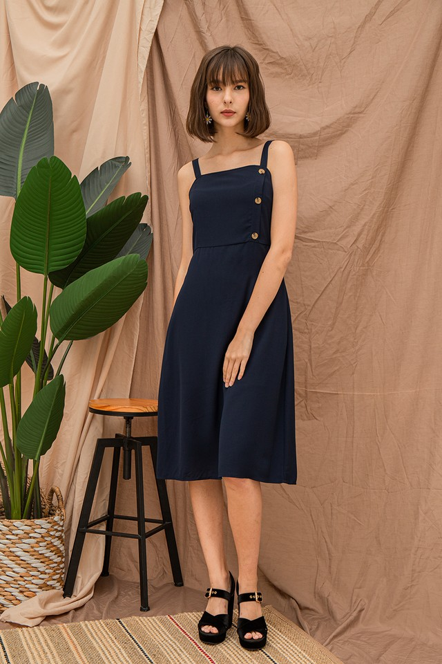 Ariella Dress Navy