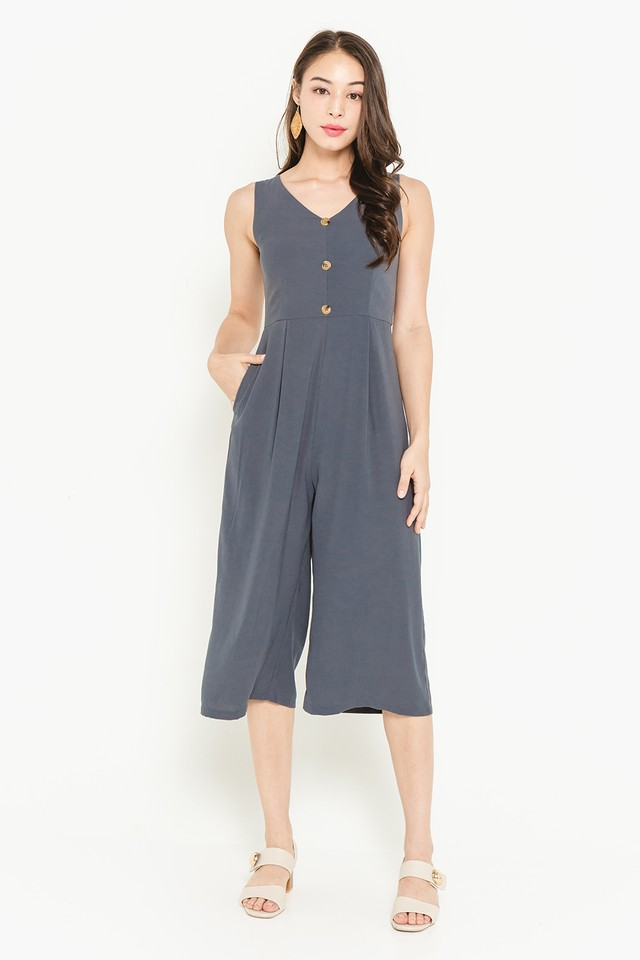Cerys Jumpsuit Slate Grey