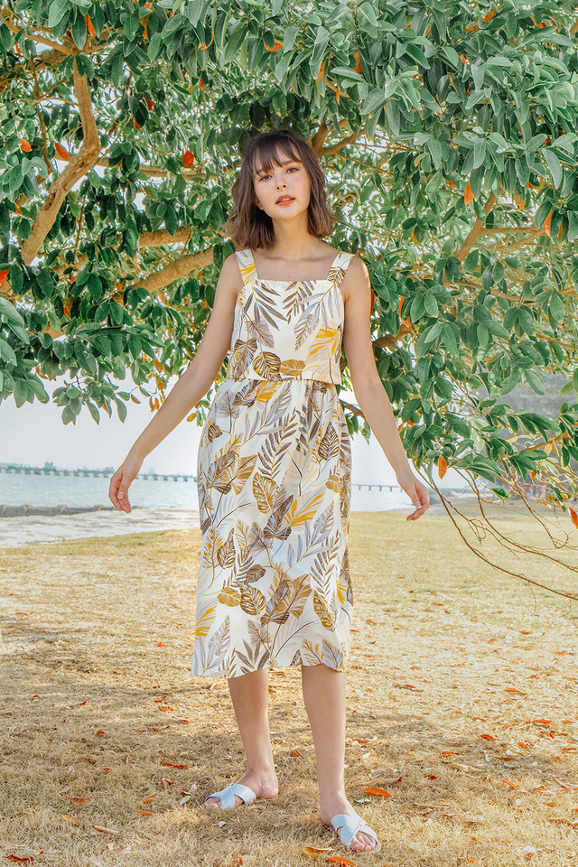 Hartley Dress Cream Floral
