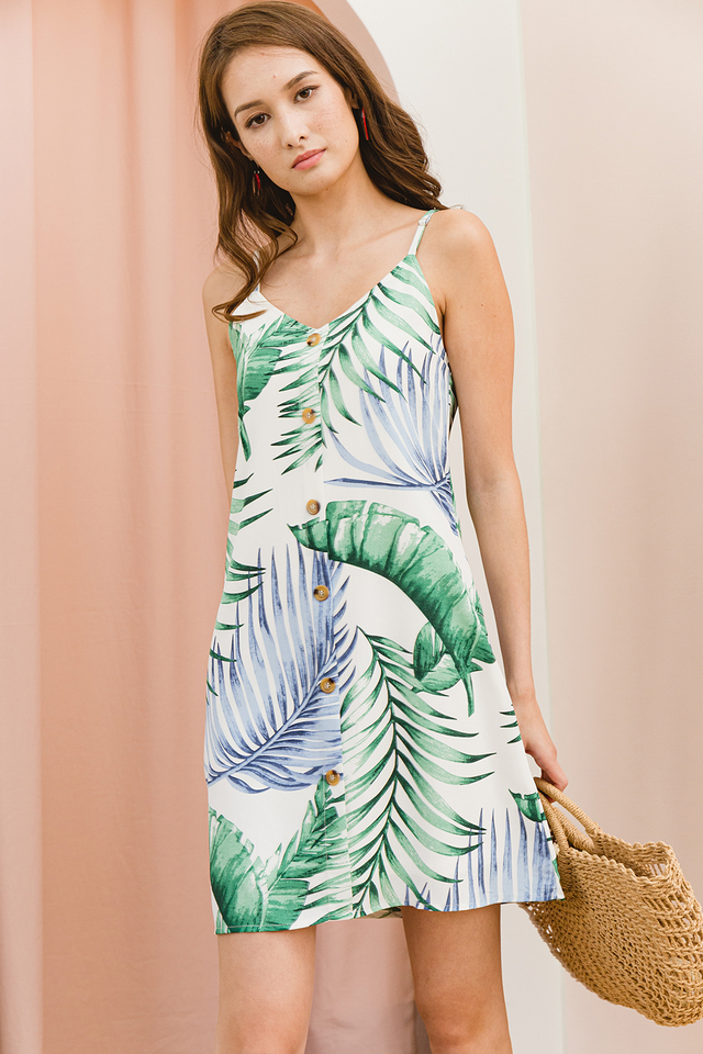 Laurie Dress White Tropical