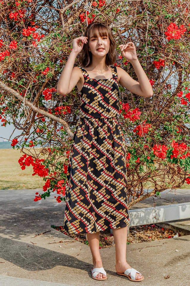 Hartley Dress Print