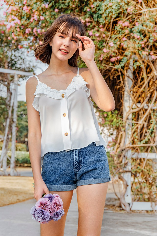 Rhian Top White