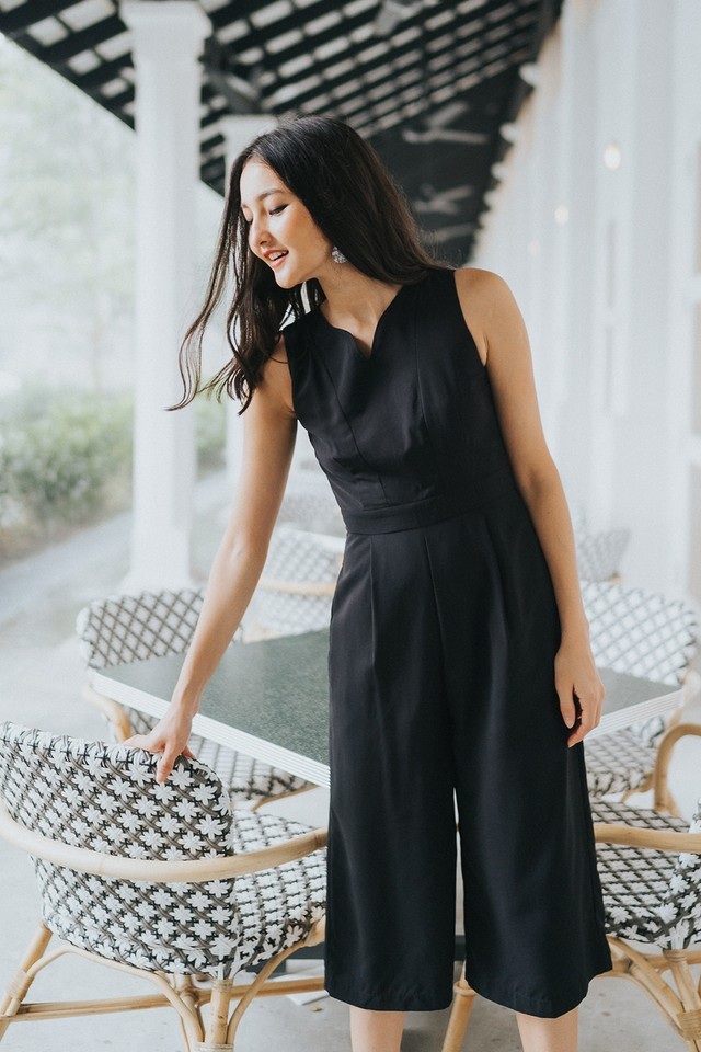 Elyza Jumpsuit Black