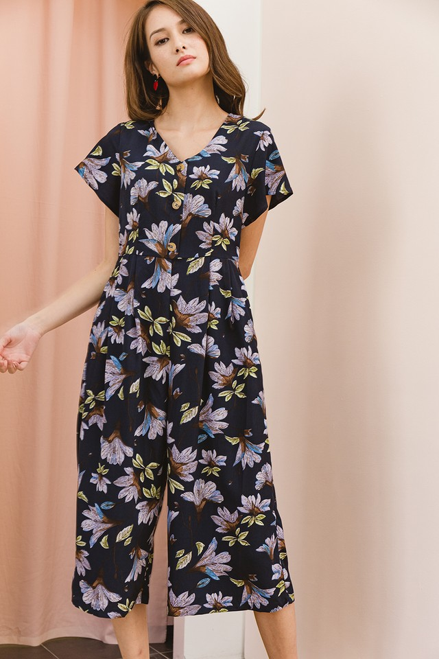 Macey Playsuit Floral