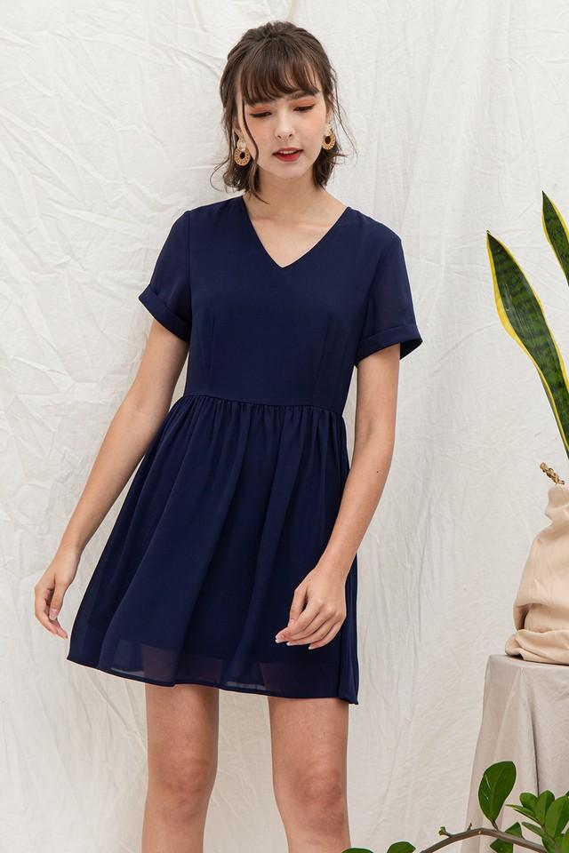 Trista Dress Navy