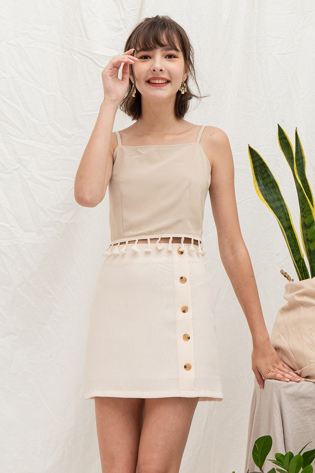 Kassidy Skirt Cream Tweed