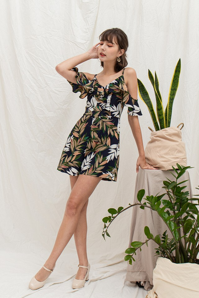 Gretchen Playsuit Floral
