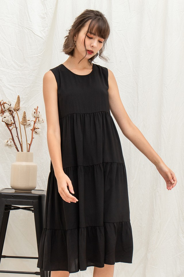 Loretta Dress Black