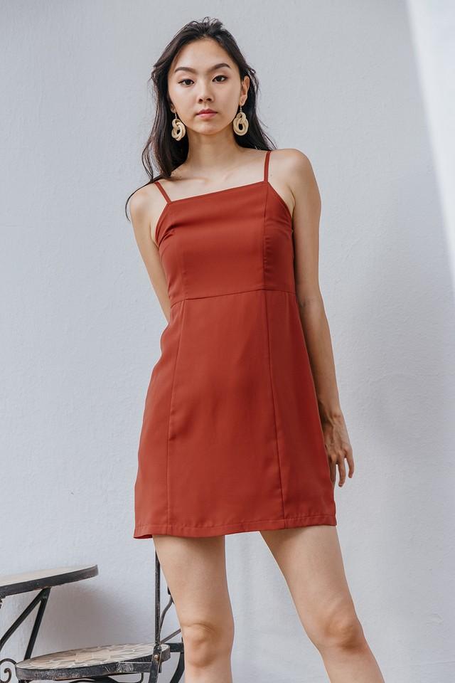 Ximena Dress Terracotta