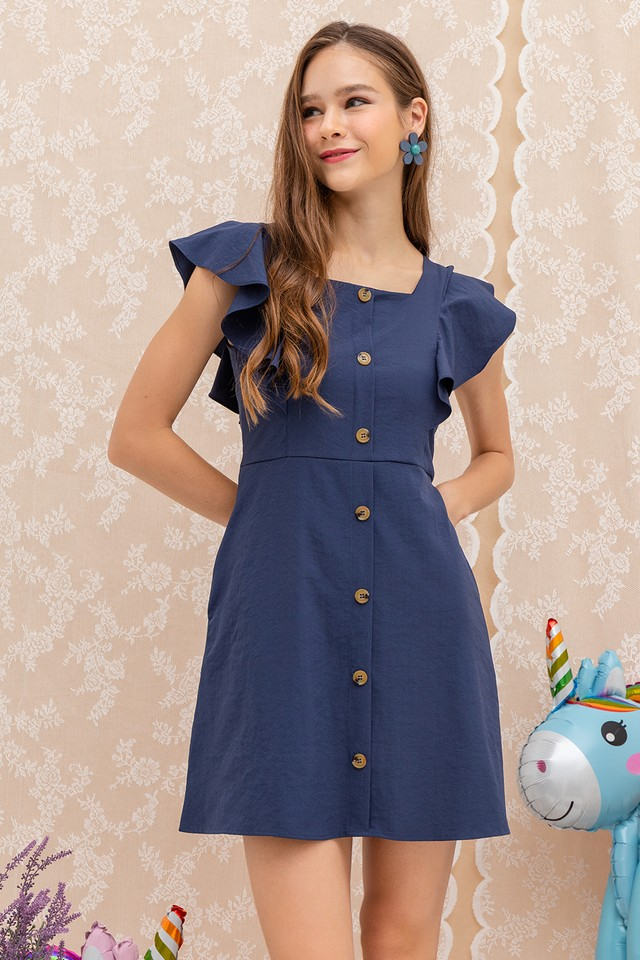 Kaelyn Dress Navy