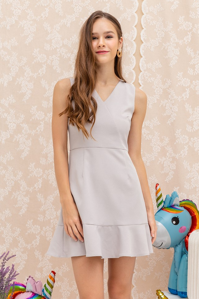 Georgie Dress Grey