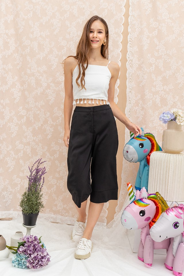 Devona Culottes Black