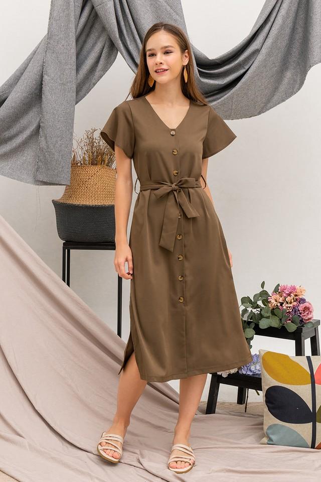 Phyllis Dress Olive
