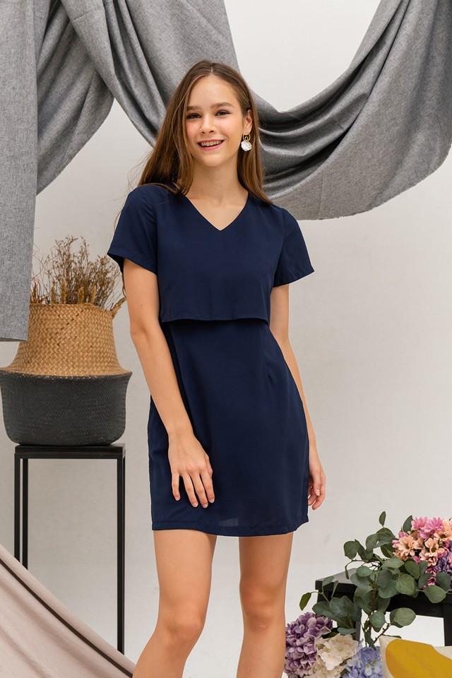 Trixie Dress Navy