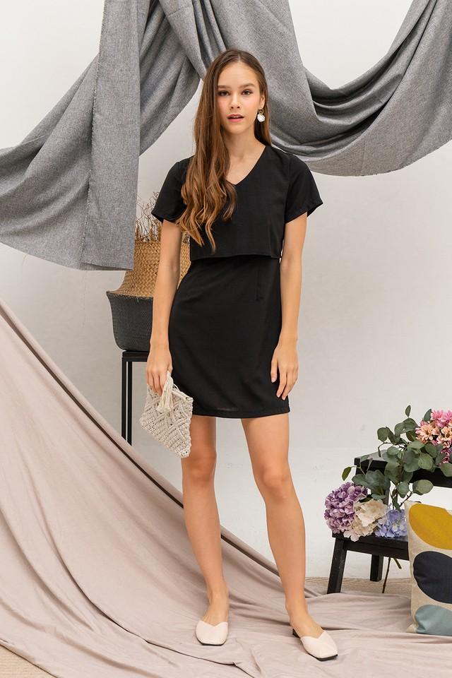 Trixie Dress Black