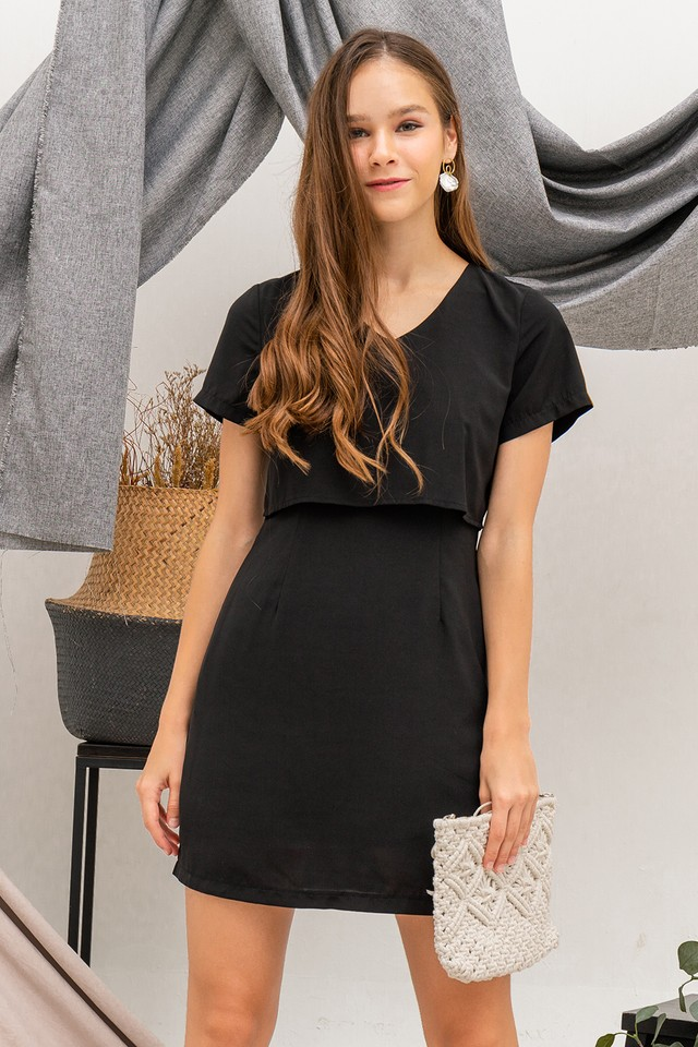 Trixie Dress Black