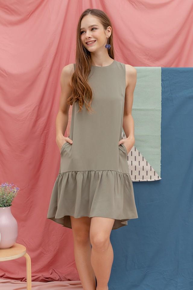 Adona Dress Sage