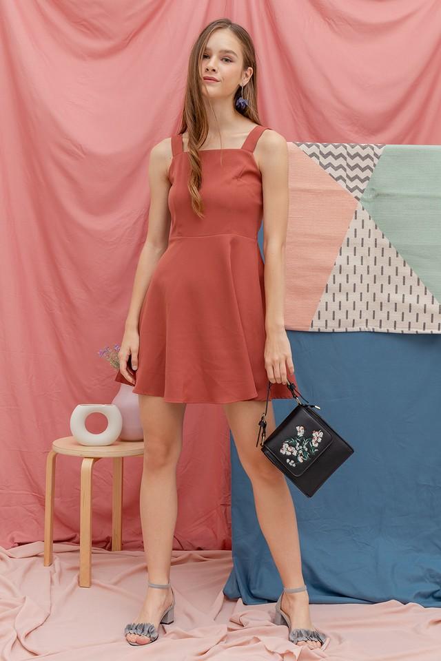 Shelley Dress Terracotta