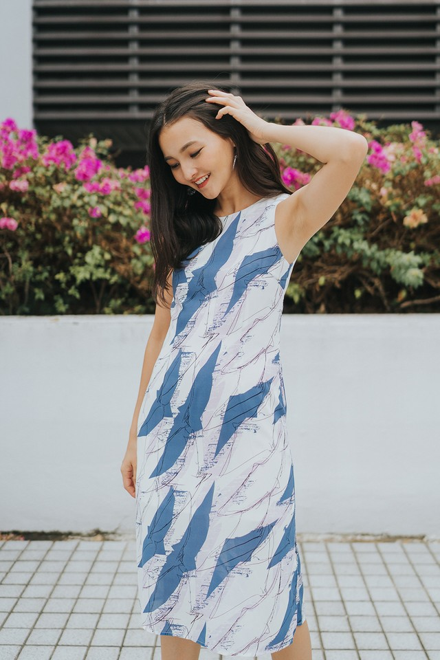 Carole Dress Abstract