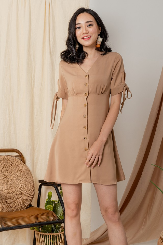 Braylee Dress Khaki